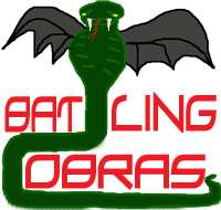BATtling Cobras team badge