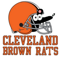 Cleveland Brown Rats team badge