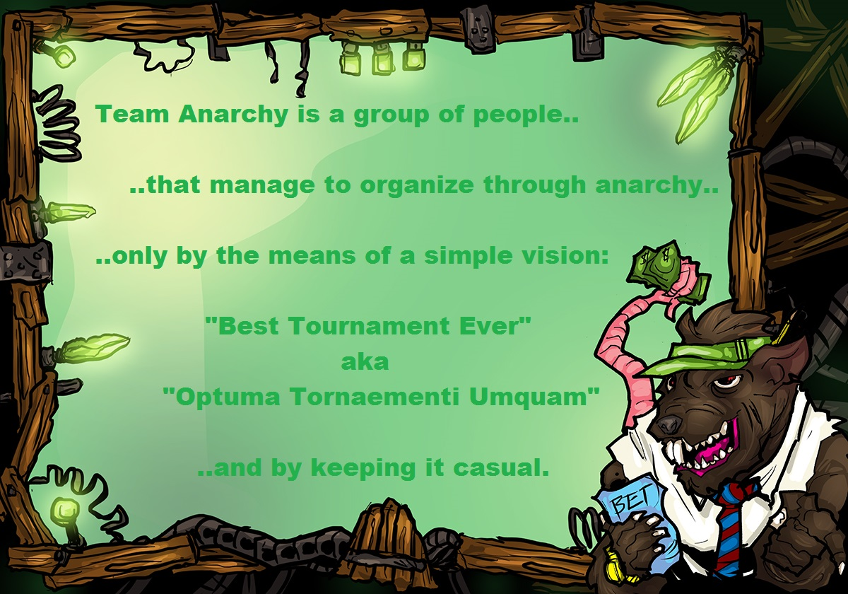 Presenting Team Anarchy